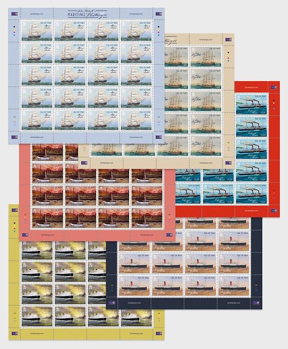 Maritime History II by John Halsall - Full Sheet CTO - Full sheets