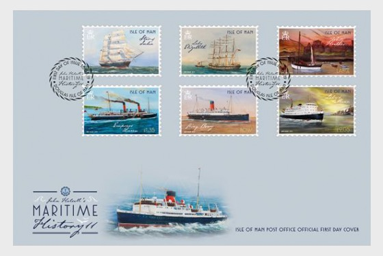 Maritime History II by John Halsall - First Day Cover