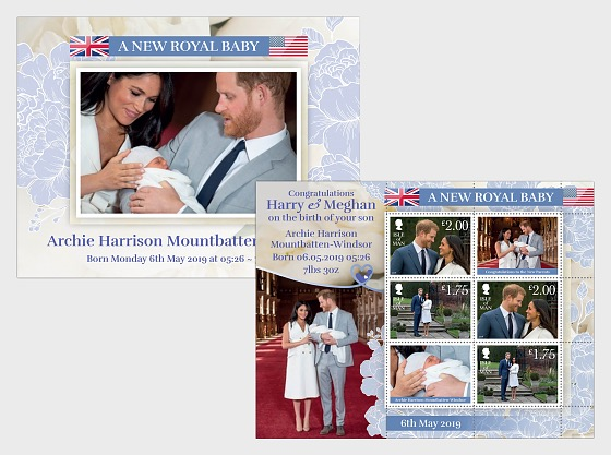 A New Royal Baby - M/S Mint - Miniature Sheet