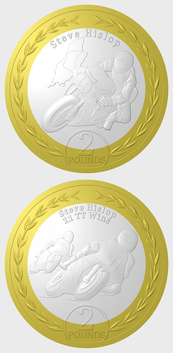 30th Anniversary of Steve Hislop's 120mph Lap Coins - Single Coin
