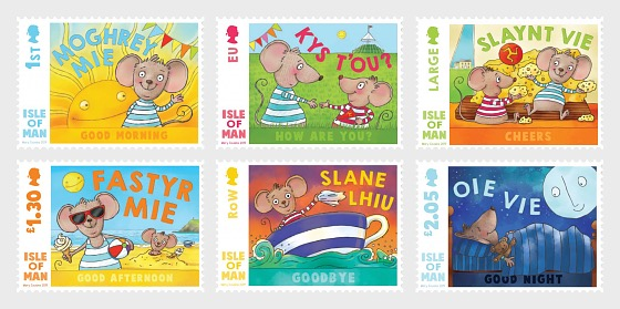 Greetings in Manx - Set Mint - Set