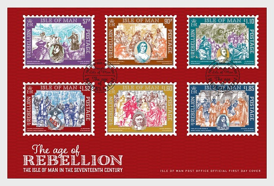 The Age of Rebellion - First Day Cover