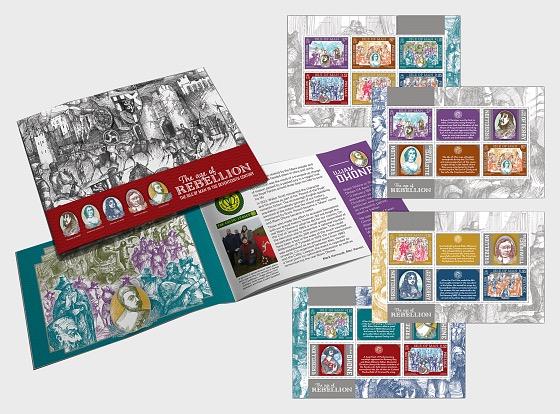 The Age of Rebellion - Prestige Booklet - Stamp Booklet