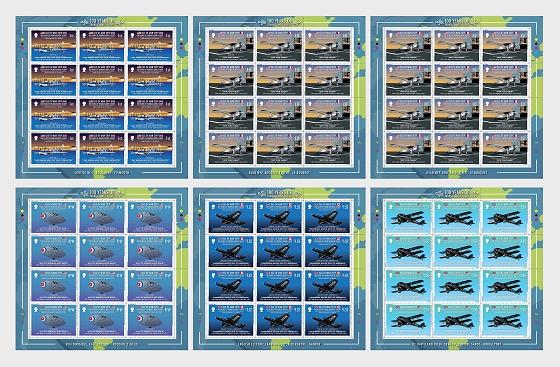 100 Years of Transatlantic Flight - Full Sheet Mint - Full sheets