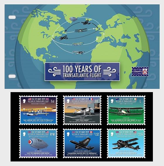 100 Years of Transatlantic Flight - Presentation Pack