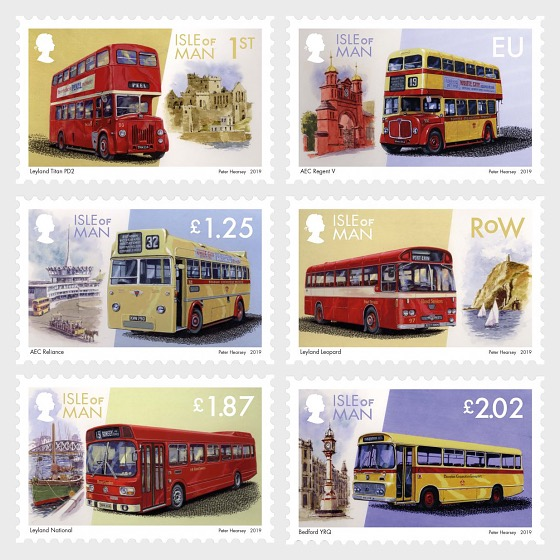 'All Aboard Please' Manx Buses Part 3 - Set Mint - Set