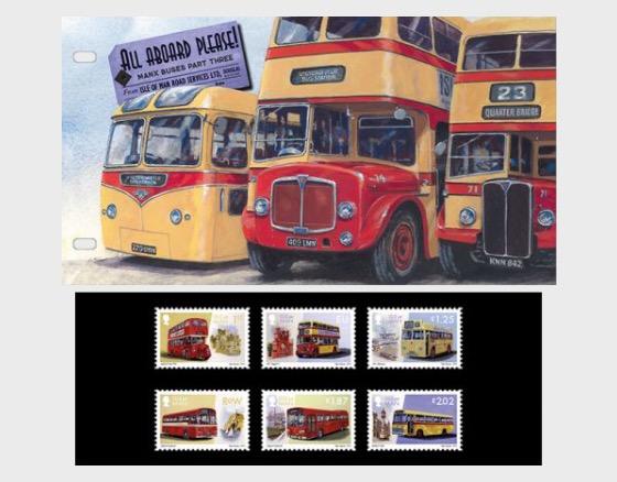 'Todos a Bordo Por Favor' Isla de Man Autobuses Parte 3 - Pack de Presentación