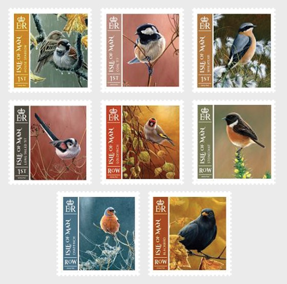 Town and Country Birds - Set Mint - Set