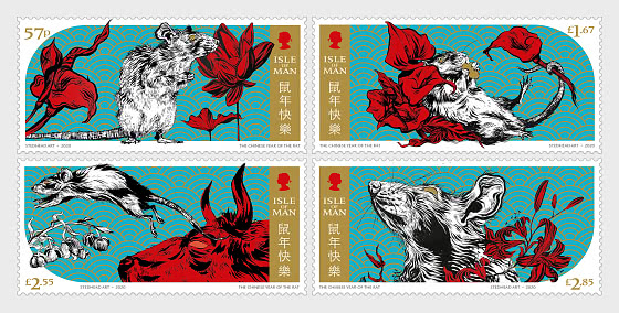 Year of the Rat 2020 - Set Mint - Set
