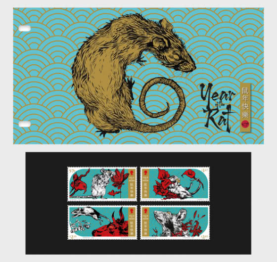 Lunar New Year - Year of the Rat 2020 - Presentation Pack