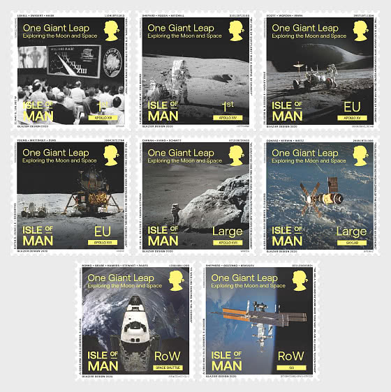 One Giant Leap - Exploring the Moon and Space - Set Mint - Set