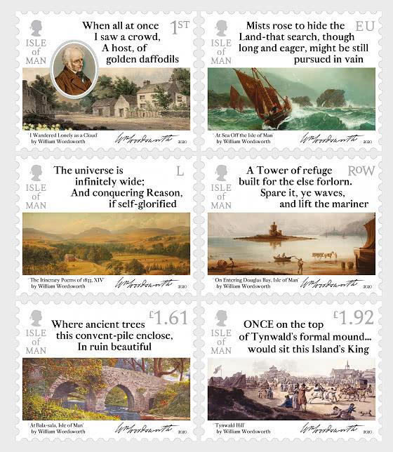 威廉·华兹华斯1770- 1820年-1833年的行程诗 - 套票