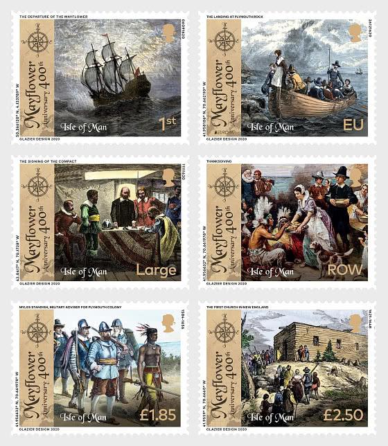 El 400 Aniversario del Mayflower - Series