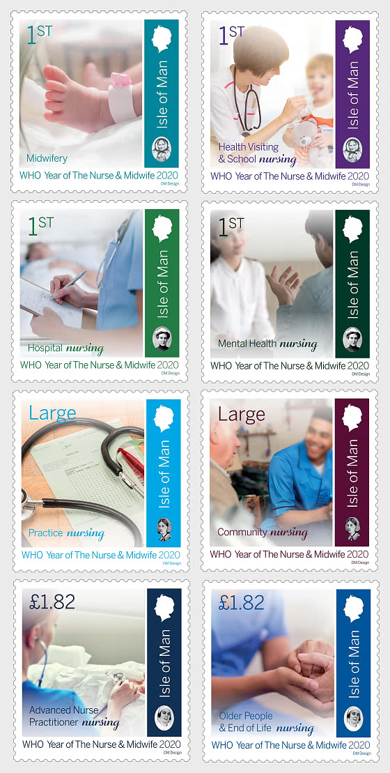 Year of the Nurse and Midwife - Set Mint - Set