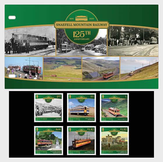 斯奈费尔山铁路-125周年 - 邮折