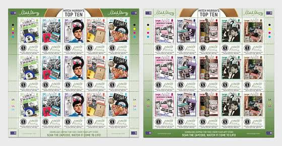 Mitch Murray's Top Ten - Sheet Mint - Full sheets