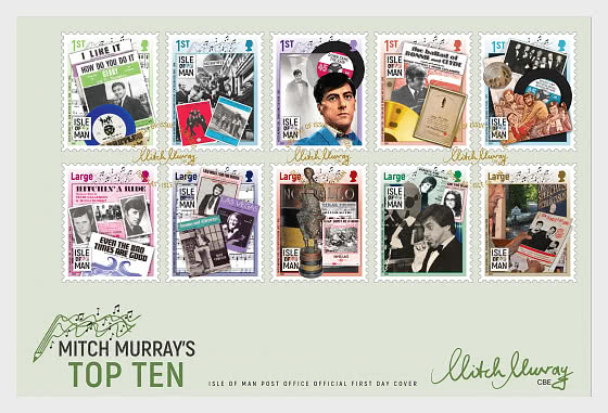 Mitch Murray's Top Ten - First Day Cover