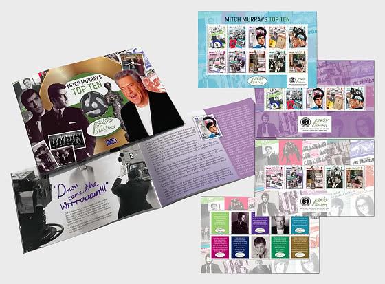 Mitch Murray's Top Ten - Prestige SB CTO - Stamp Booklet CTO