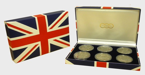 2012 Olympic Collection of Crowns - Gedenk