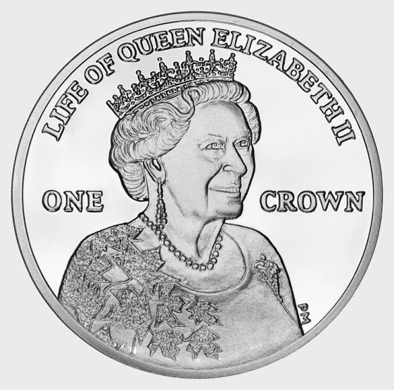 2012 HM Queen Visit to Canada Crown - Gedenk