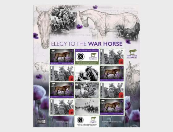 Elegy to the War Horse Commemorative Sheetlet - Mint - Set