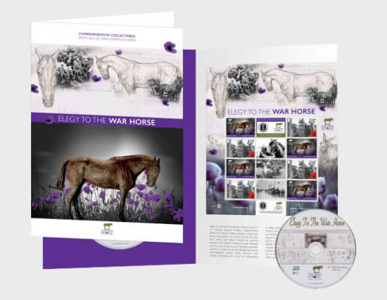 Elegy to the War Horse Commemorative Sheetlet and CD/EP Collection - Collectibles
