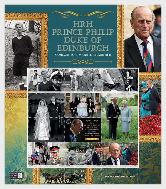 SAR Le Prince Philip Le Duc D'édimbourg - Un Centenaire De Réussite Et D'engagement - Mini-feuilles