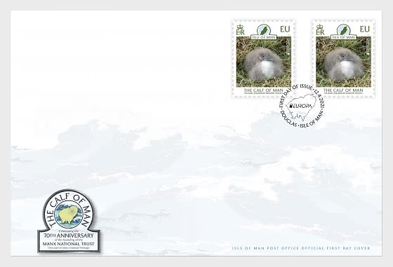 The Calf of Man - FDC