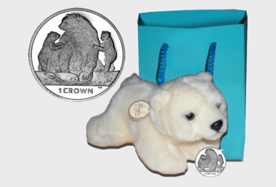 Kermode Bear- (Crown Gift Pack) - Commemorative