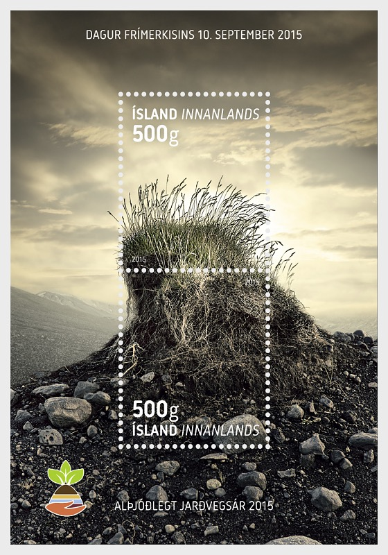 Journée du timbre - Année internationale des sols 2015 - Blocs feuillets