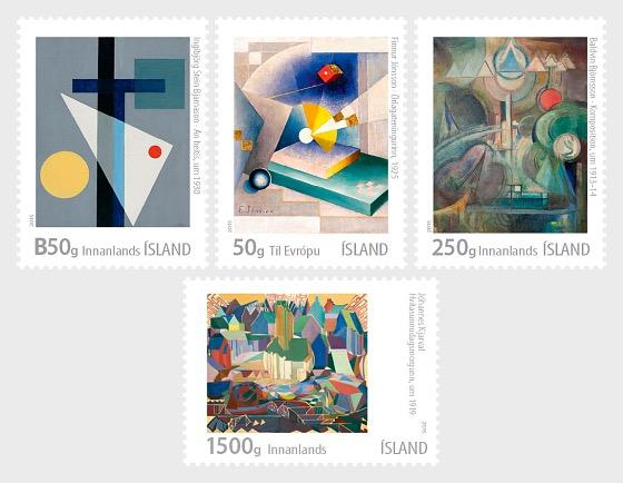 Islandais Arts visuels VI - islandaise avant-garde - Séries