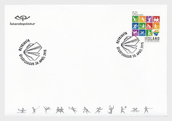 Games of the Small States of Europe - First Day Cover