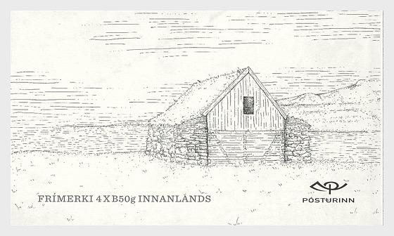 Bâtiments anciens islandais - Carnet