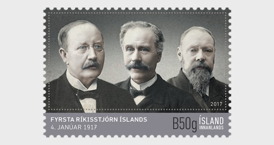 Iceland's first government - Set