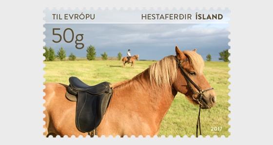 Tourist Stamps VI- (Horse) - Set