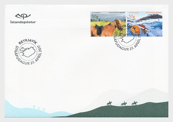 Tourist Stamps VI- (FDC Set) - First Day Cover