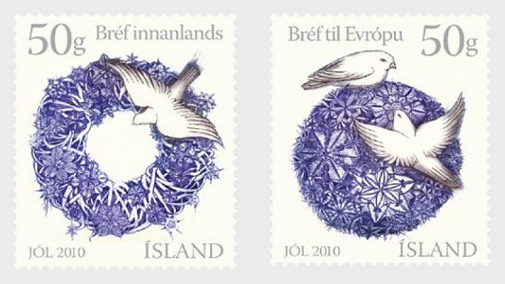Les timbres de Noël 2010 - Séries