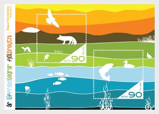 Année Internationale de la Biodiversité - Blocs feuillets