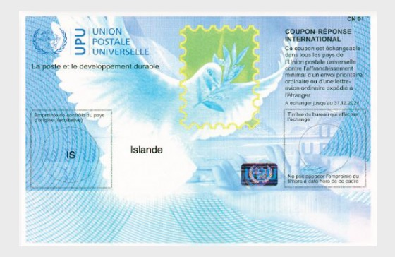 ALS - International Reply Coupon 2017 - Collectibles