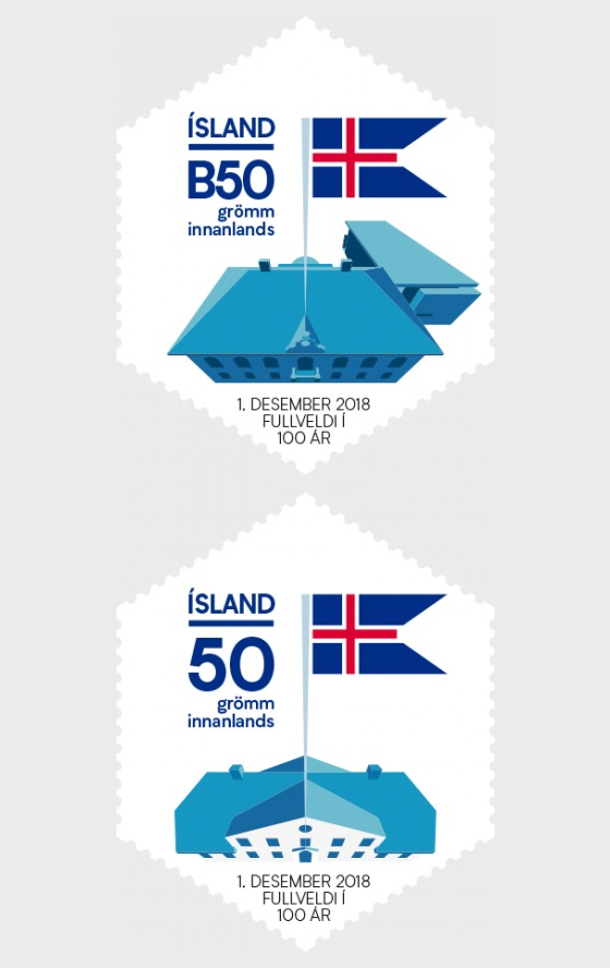 Centenary of Icelandic Independence and Sovereignty - Set