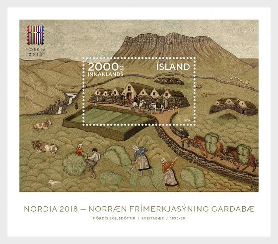 Nordia 2018 - Miniature Sheet