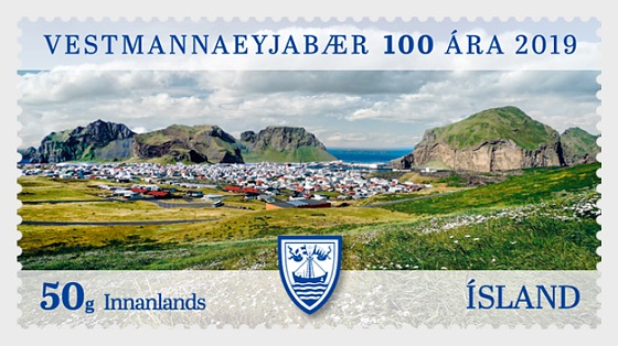 The Municipality of Vestmannaeyjar - 100th Anniversary - Set