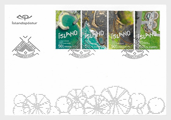 Icelandic Contemporary Design IX - Landscape Architecture - FDC Set - First Day Cover