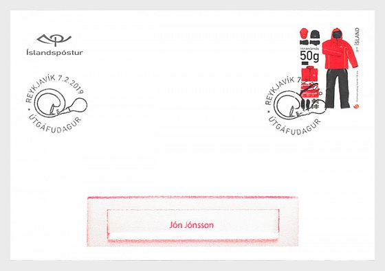 The Icelandic Postal Workers Union - 100th Anniversary - First Day Cover