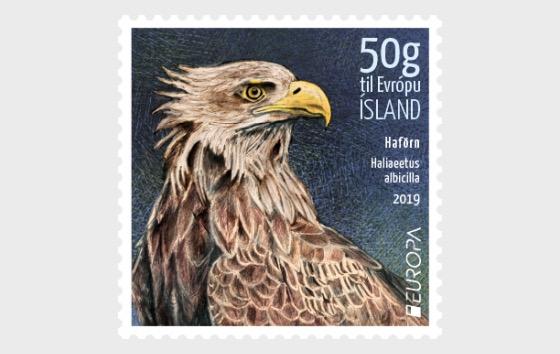 Europa 2019 - Icelandic Birds - White-Tailed Eagle - Set