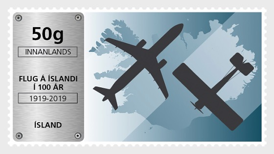 Aviation in Iceland - 100th Anniversary - Set