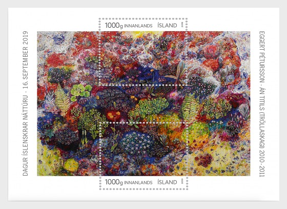 Icelandic Nature Day - Miniature Sheet