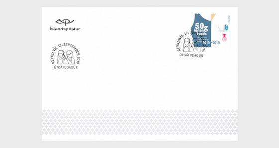 Association des Infirmières Islandaises - 100e Anniversaire - Enveloppes de Premier Jour