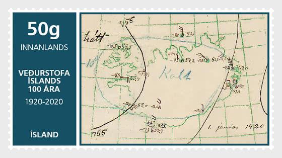 Centenario de la Oficina Meteorológica de Islandia - Series