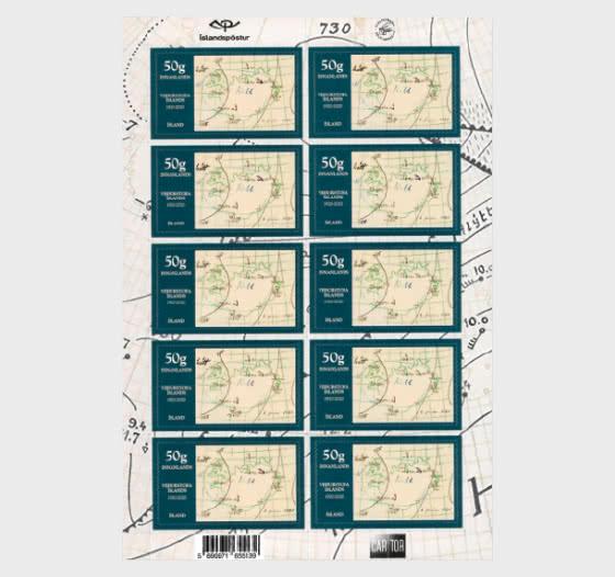Centenary of the Icelandic Met Office - Sheetlets